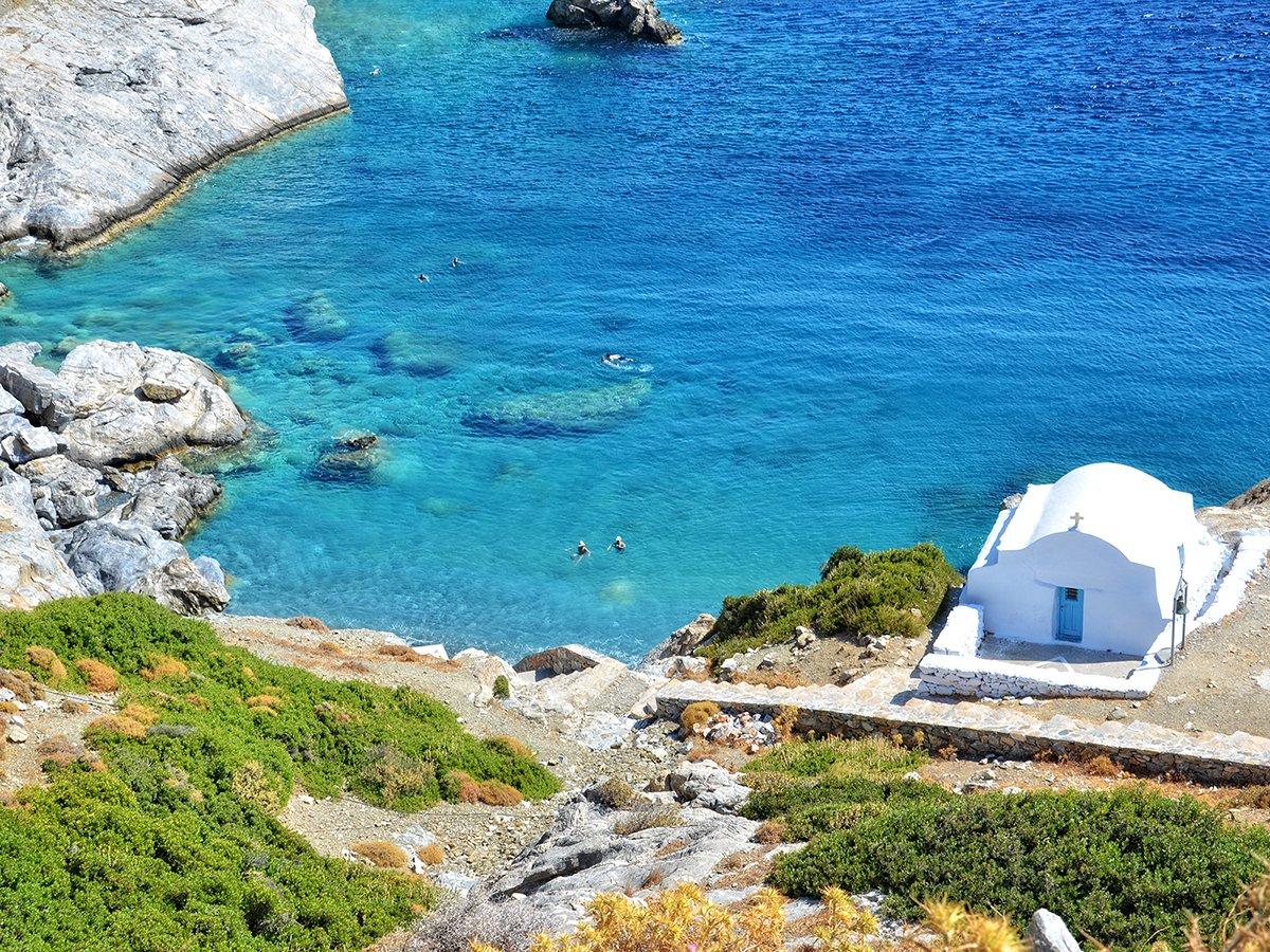 Amorgos Agia Anna Chapel