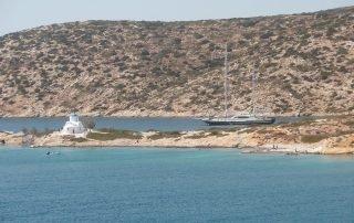 St Panteleimonos strand Katapola Amorgos
