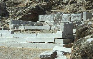 Antika Minoa - Hellenistisk tempel tillägnat Apollo