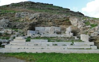 Archaeological sightes on Amorgos - Ancient Minoa