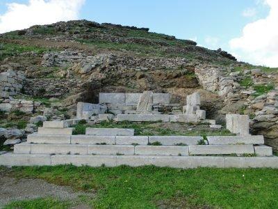 Archaeological sightes on Amorgos - Ancient Minoa