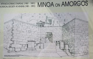 Ancient Minoa - Sketch of what it looked like