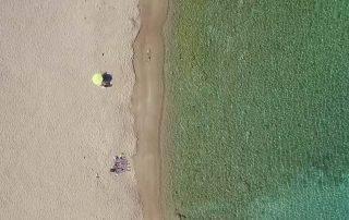 Kalotaritissa strand Amorgos Grekland