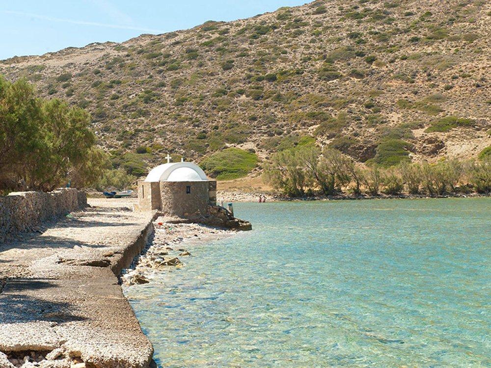 Kato Kambos Strand Kolofana Amorgos