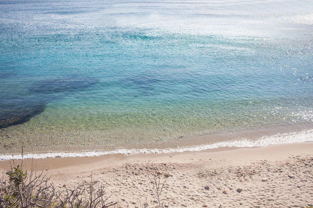 Maltezi strand på Amorgos