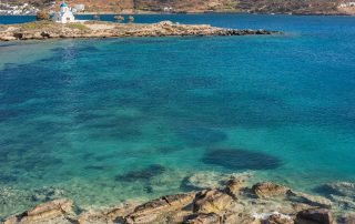 St Panteleimonos strand Amorgos