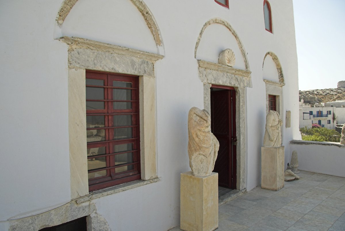 The Archaeological Museum in Chora on Amorgos