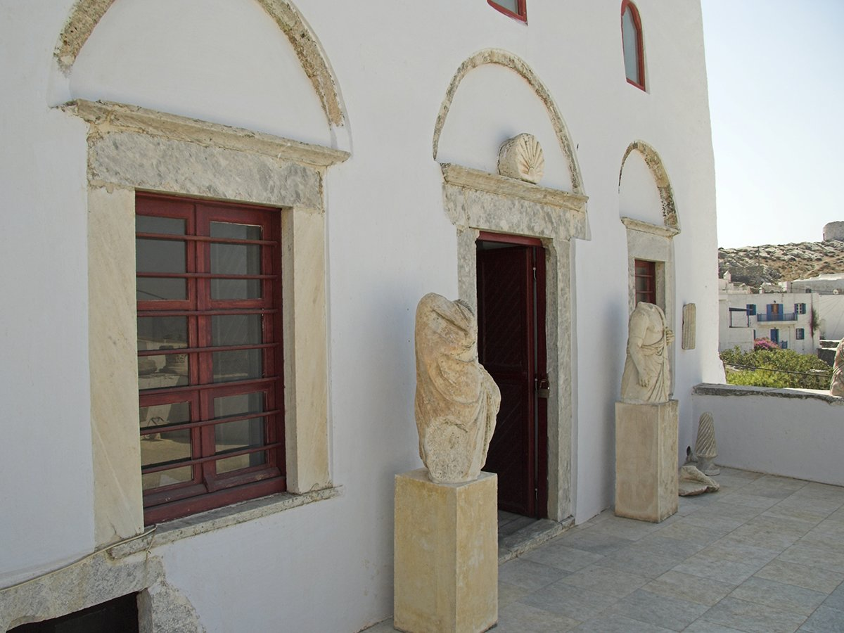 The Archaeologica Museum Chora Amorgos Greece