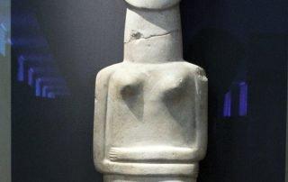 Det arkeologiska museet gudabild