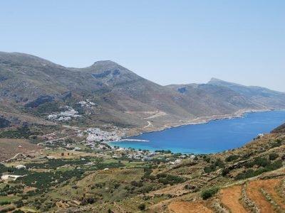 Walkinig path 4. Melania Amorgos