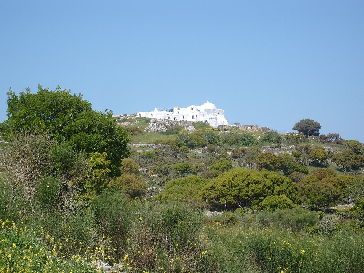 Walking path 5. Pan - Theologos Amorgos