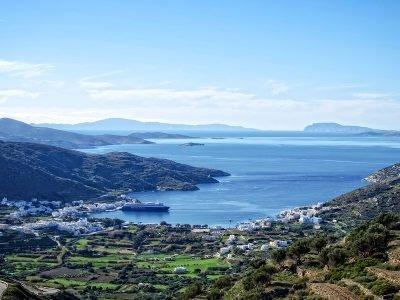 Walking path 7. Evangelistria Katapola Amorgos