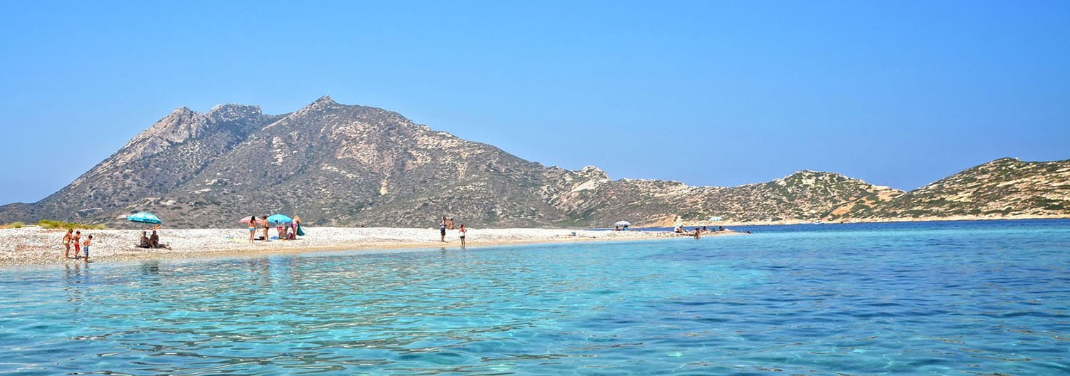 Beach and Sun Tourism Amorgos Cyclades Greece