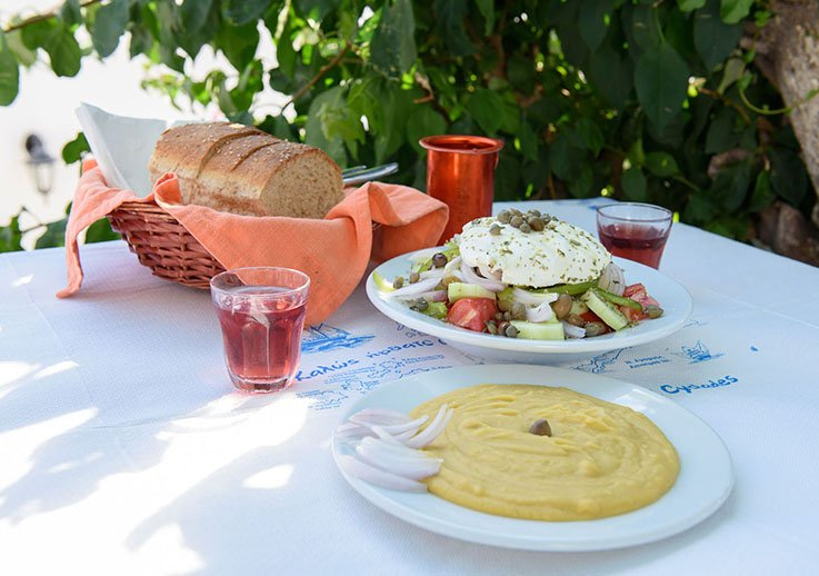 Gastronomic Tourism Amorgos Cyclades Greece