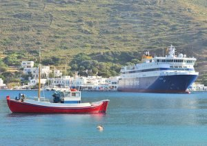 Travel to Amorgos island Cyclades Greece