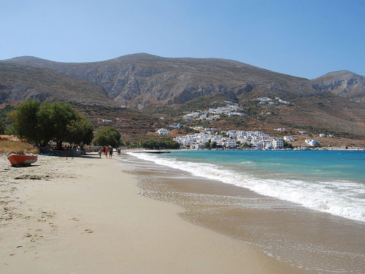 Aegiali Beach Amorgos