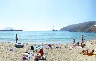 Amorgos Aegiali Beach