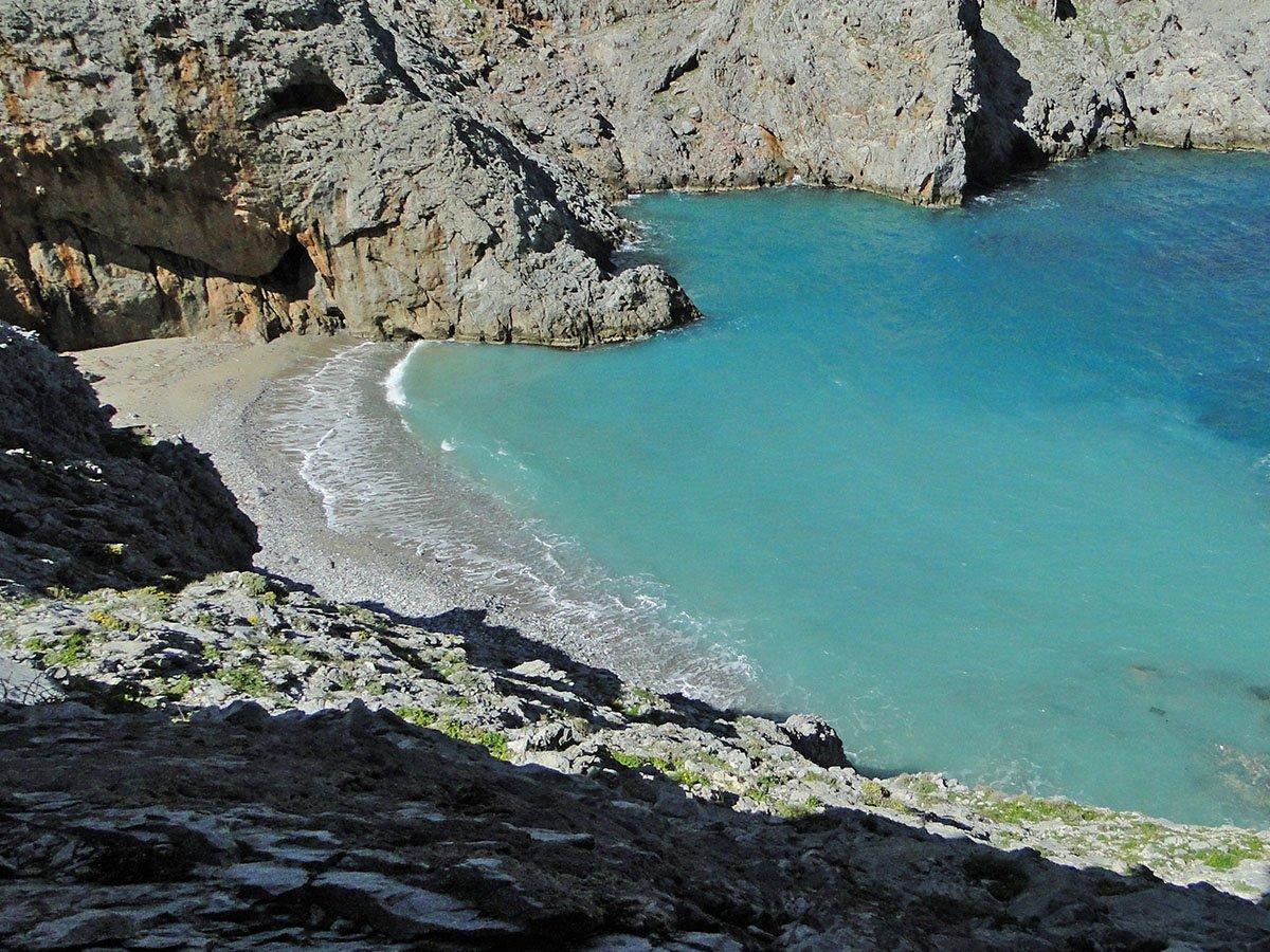 Mikri Glyfada Beach Tholaria Amorgos