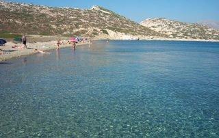 Nikouria strand på Amorgos