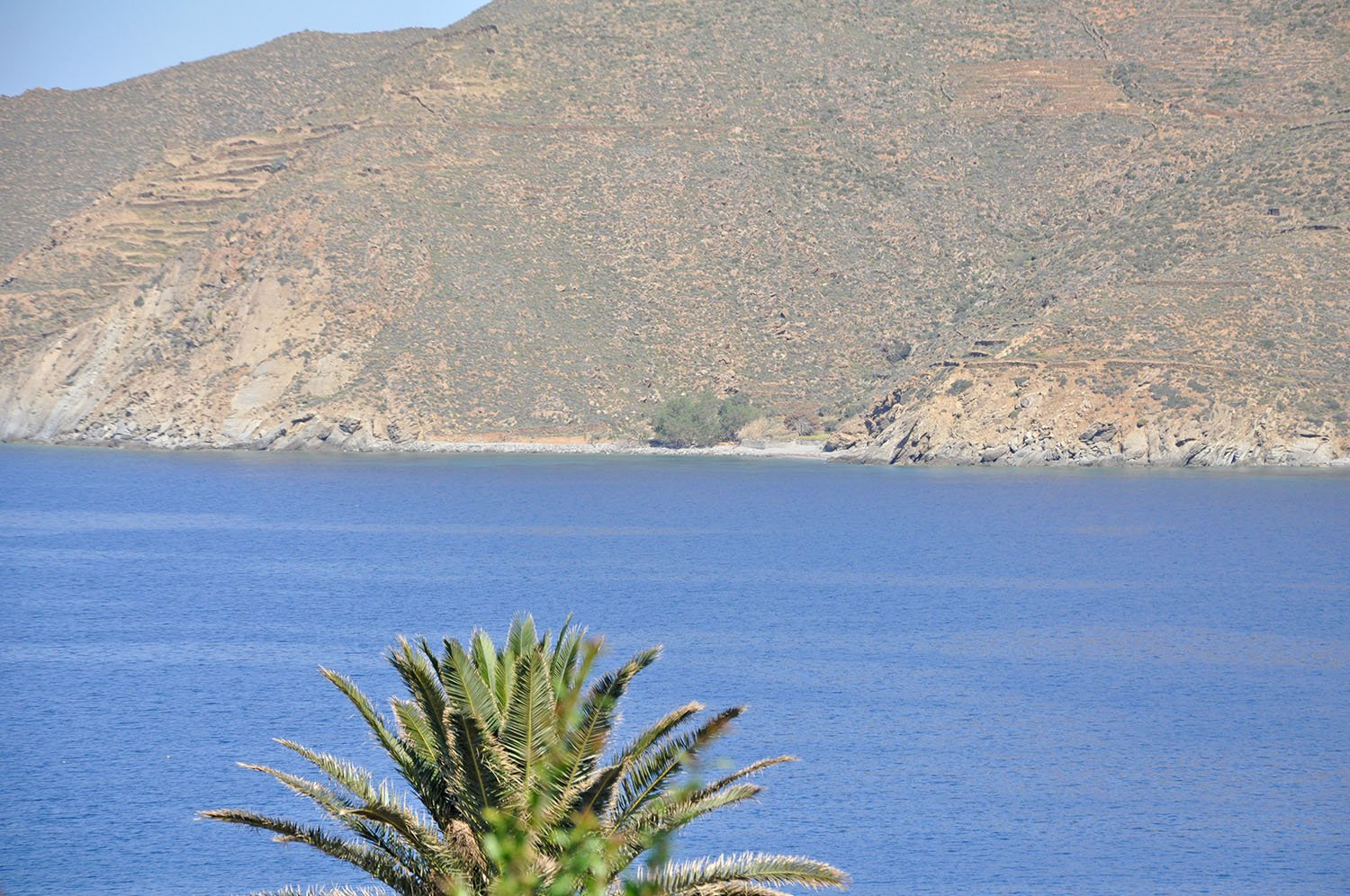 Chochlakas beach on Amorgos