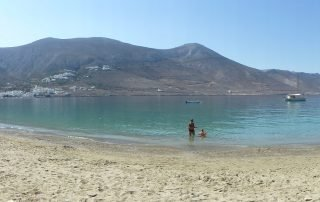 Levrossos Strand Amorgos
