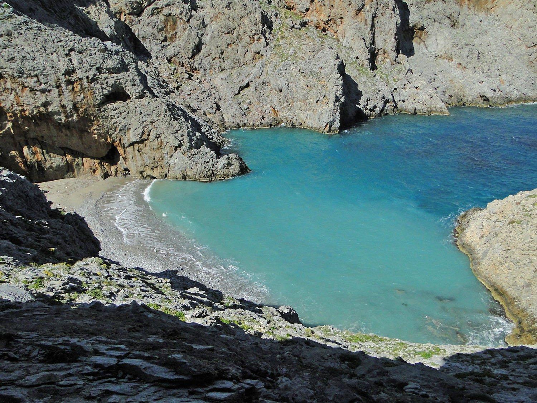 Ammoudi strand på Amorgos