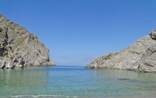 Mikri Glyfada Strand Tholaria Amorgos
