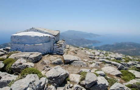 Mountain & Chapel Prophet Elias - Nature and Geography Amorgos