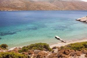 Nikouria beach on Amorgos