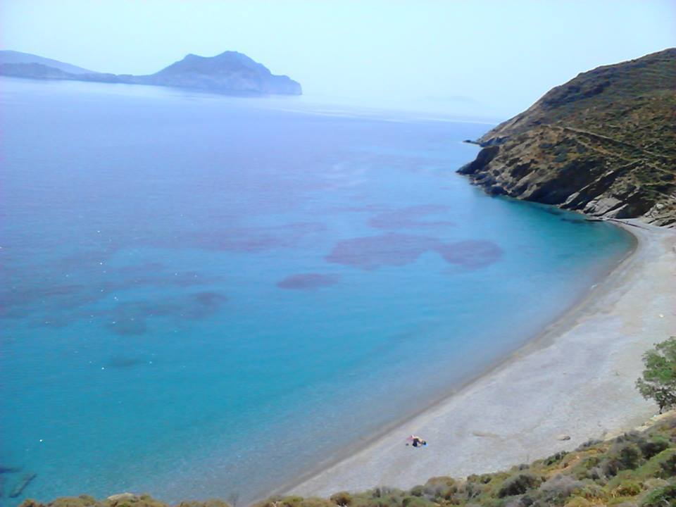 Psiliamos Beach on Amorgos