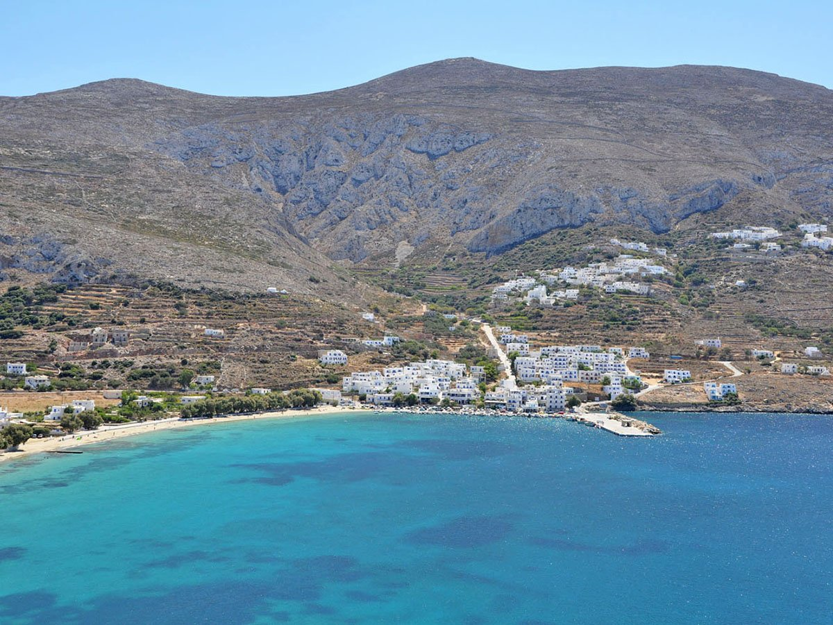 Aegiali Amorgos Cyclades Greece
