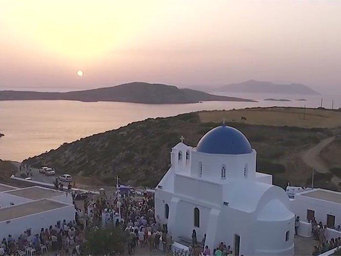 Agia Paraskevi Kolofana Amorgos Greece