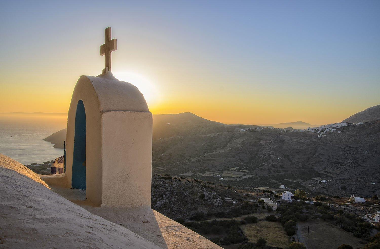 Agia Triada Langada on Amorgos