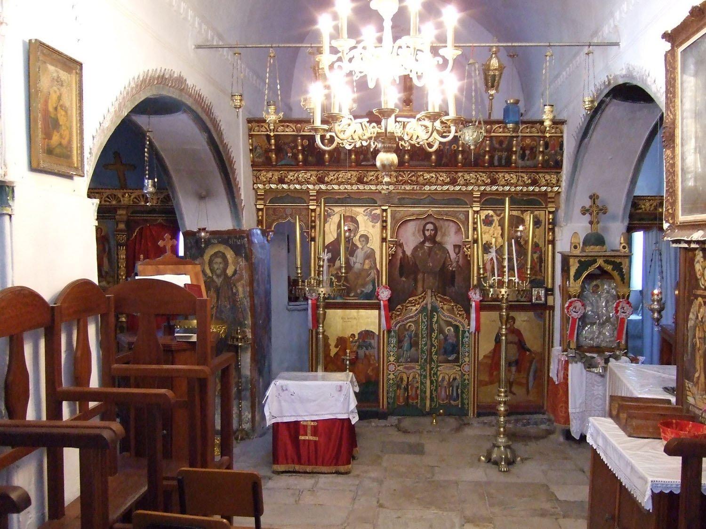 Agios Georgios Valsamitis on Amorgos