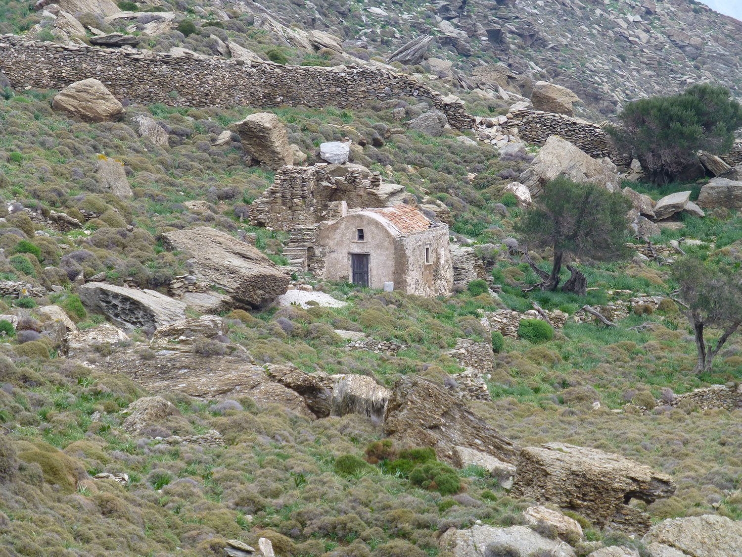 Agios Ioannis Chrysostomos on Amorgos
