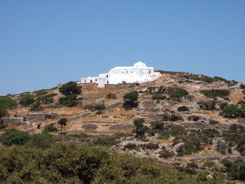 Agios Ioannis Theologos Langada on Amorgos