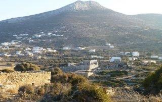 Arkesini Amorgos - Tower of Agia Triada
