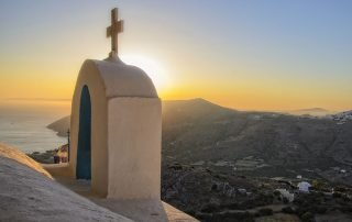 Chapel of Agia Triada Amorgos