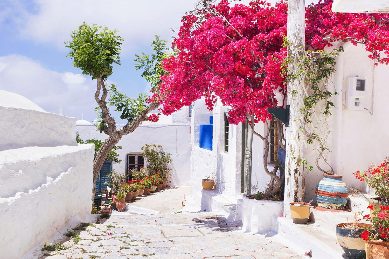 Chora på Amorgos