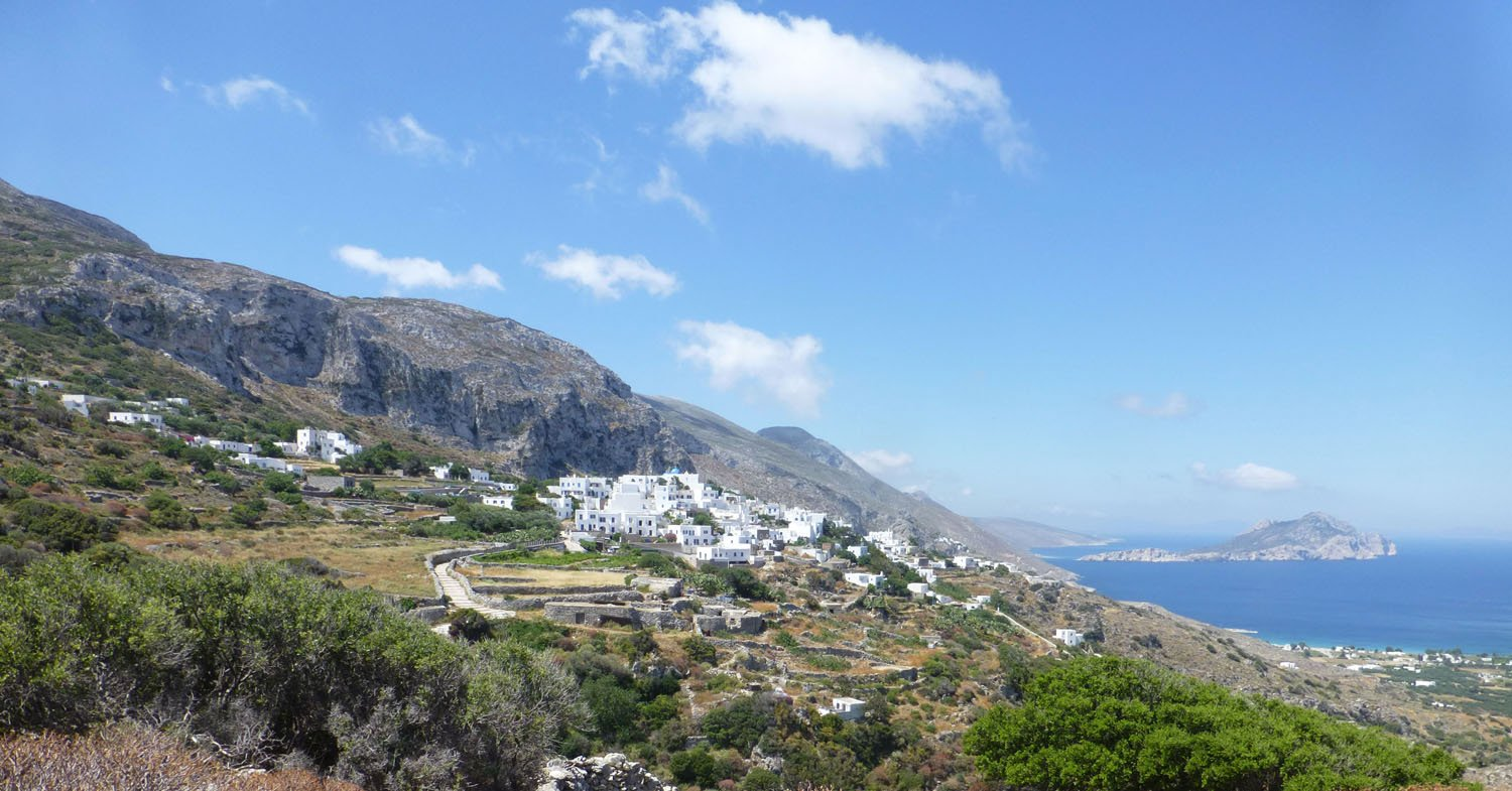 Langada Aegiali on Amorgos