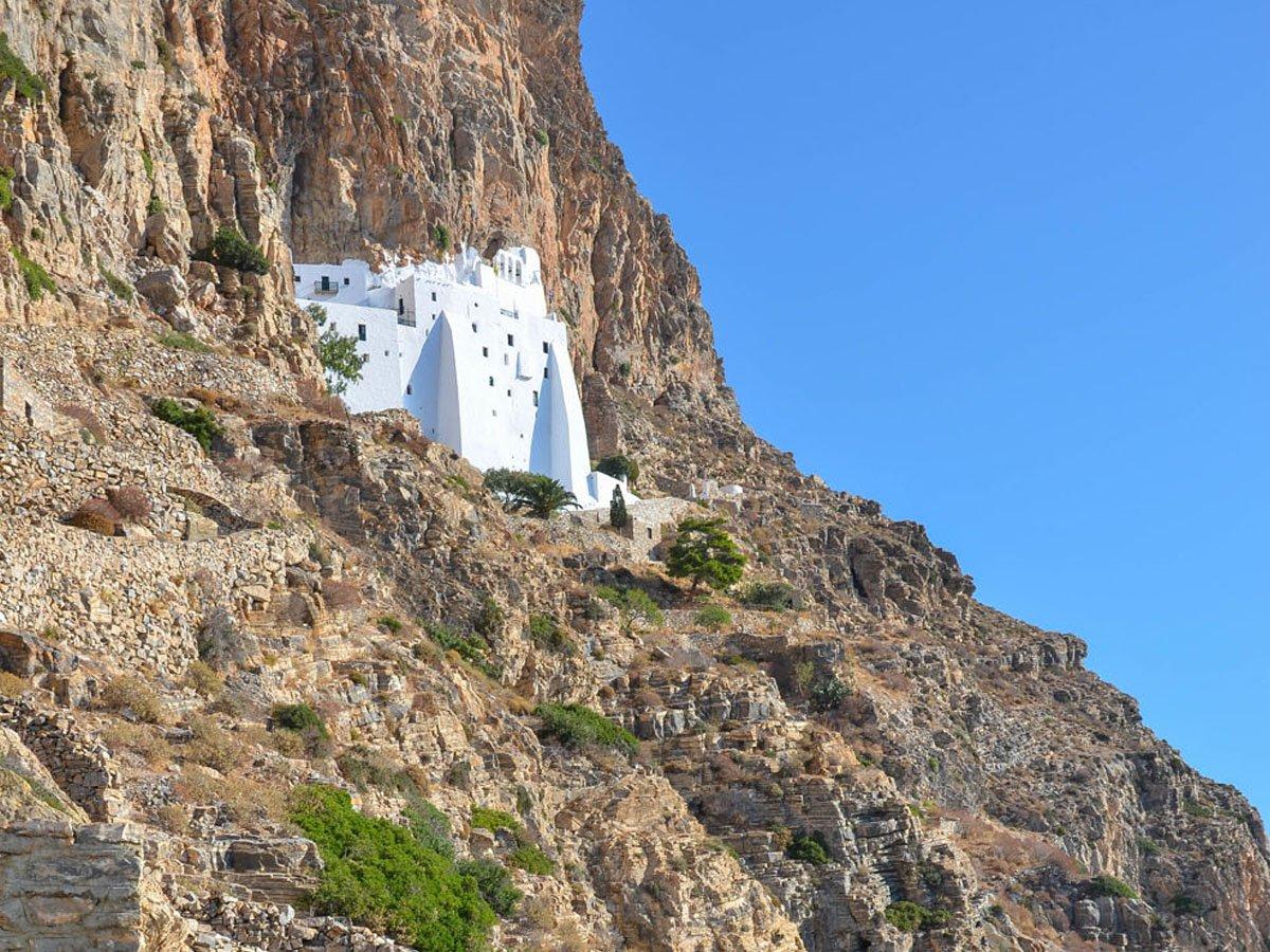 The Monastery of Hozoviotissa Amorgos