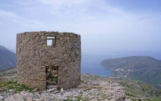 Väderkvarnar Langada Amorgos