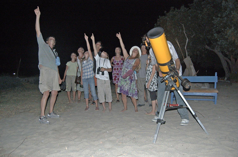 Astronomi på Amorgos