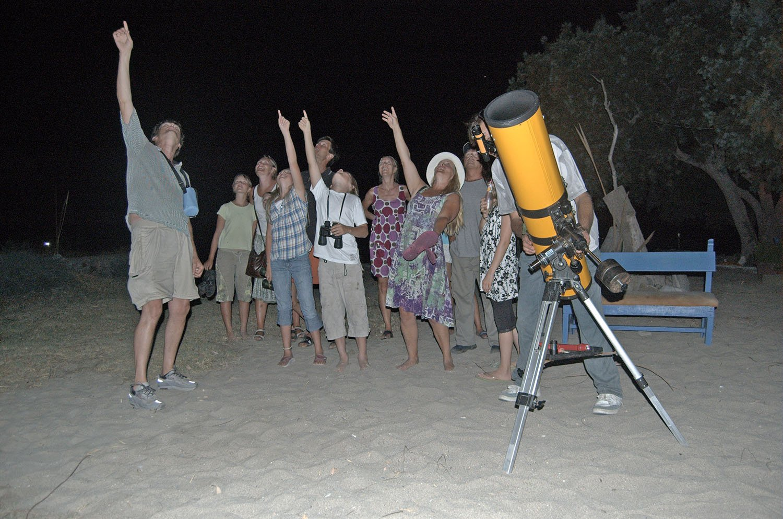 Astronomy on Amorgos
