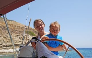 Boating on Amorgos