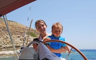 Båtturer på Amorgos