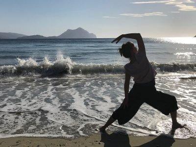 Yoga Amorgos Cyclades Greece