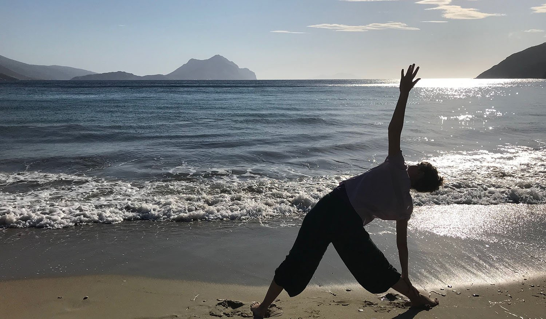 Yoga on Amorgos