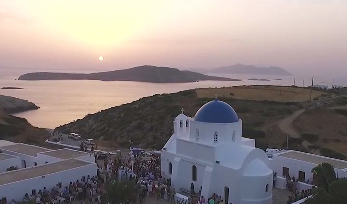 Agia Paraskevi in Kalofana on Amorgos