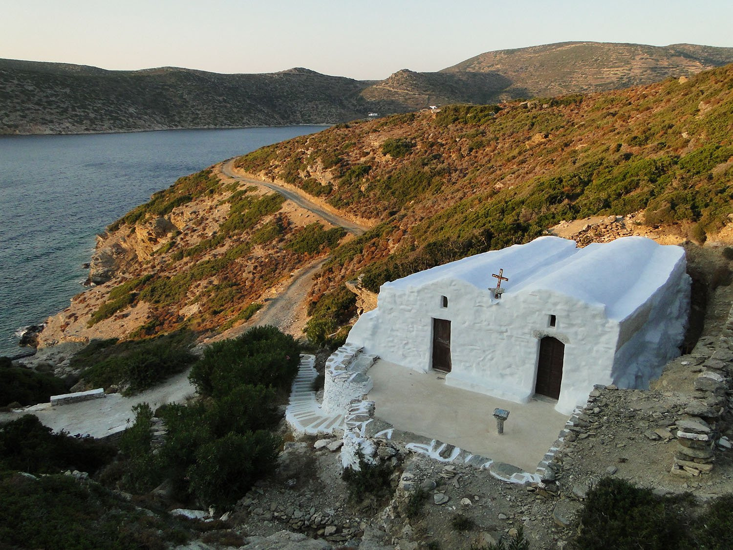 Agioi Anargyroi Chapel in Katapola on Amorgos